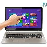 "Toshiba Satellite S55t-B5152 - 15.6"" Touchscreen / Intel i5 (Broadwell) / 4GB RAM / 500GB HDD / Intel Graphics 5500 / Windows 8.1 - Notebook PC (Satin Gold)"