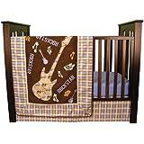 Trend Lab Rockstar 3 Piece Crib Bedding Set