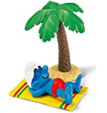 Schleich Smurf on Holiday Toy Figure