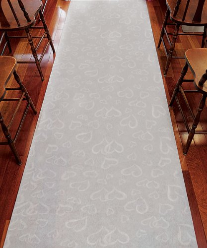 Weddingstar-9301-Aisle-Runner-White-With-All-Over-Heart-Design-White-With-Hearts