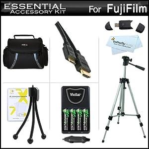 Amazon.com : Essential Accessories Kit For Fuji Fujifilm