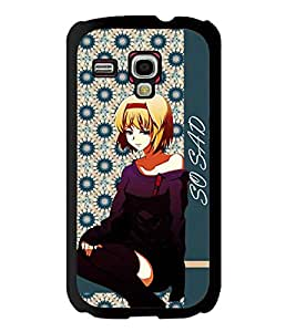 Fuson 2D Printed Girly Designer back case cover for Samsung Galaxy S3 Mini - D4375