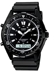 Casio AMW320B-1A Men's Black Watch