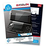 "atFoliX Displayschutzfolie f�r Nintendo 3DS (3er Set) - FX-Clear: Displayschutz Folie kristallklar! H�chste Qualit�t - Made in Germany!von ""Displayschutz@FoliX"""