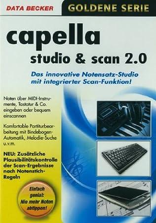 CAPELLA Studio und Scan 2.0