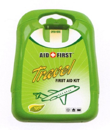 2 x First Aid Holiday Travel Plaster Kits