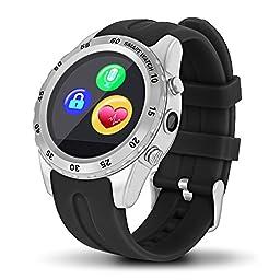 Highsound Heavy Duty Bluetooth Smart Watch (Silver)