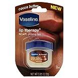 Vaseline Lip Therapy Lip Balm, Cocoa Butter, 0.25 oz (7 g)