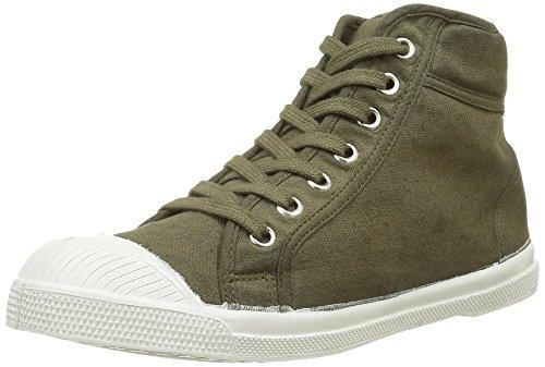 BensimonF15032C158 - Sneaker Donna , Verde (Vert (612 Kaki)), 41