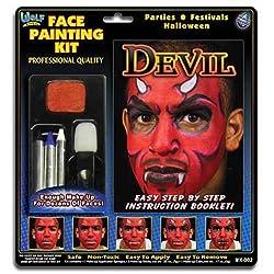 Wolfe Devil Face Painting Kit