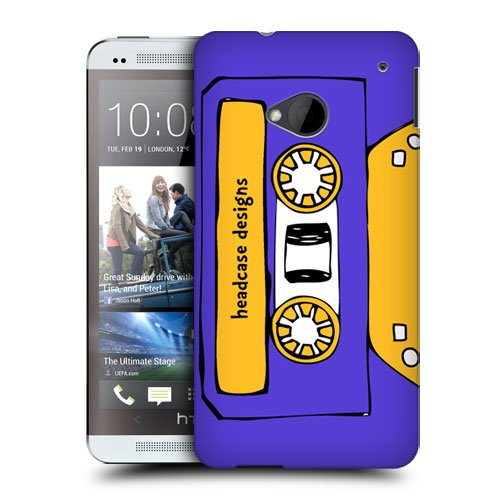 Head Case Designs Midnight Mixtapes Protective Snap-on Hard Back Case Cover for HTC One