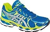 ASICS Mens Gel-Nimbus 16 Running Shoe,Island Blue/Lightning/Lime,11 M US