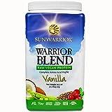 Sunwarrior Warrior Blend Protein, Vanilla 2.2 lbs