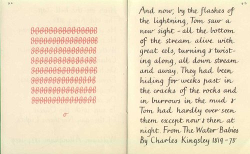 An Example Of Marion Richardsons Cursive Script 51IRj7HNy8L