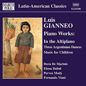 Gianneo Piano Works Vol 2 by Marco Polo
