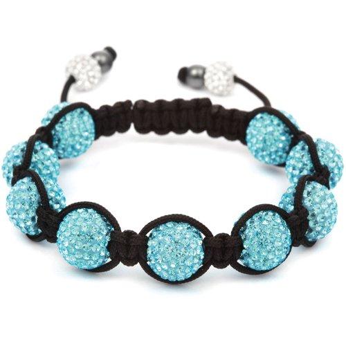 Shamballa Aqua Maxi Bracelet