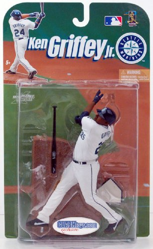 Ken Griffey Jr. CLARKtoys Exclusive McFarlane MLB Seattle Mariners #24 at Amazon.com