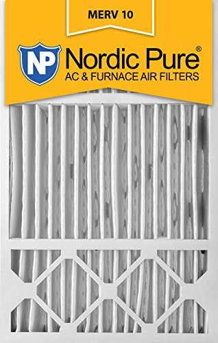 16x25x5 Honeywell Replacement MERV 10 furnace Air Filter Qty 4