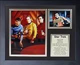 "Legends Never Die ""Star Trek Phazers"" Framed Photo Collage, 11 x 14-Inch"