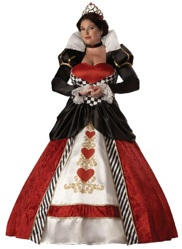 Queen Of Hearts Elite Collection Adult Plus Costume