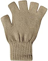 Ladies Super Soft Warm Fine Knit Thermal Fingerless Winter Gloves