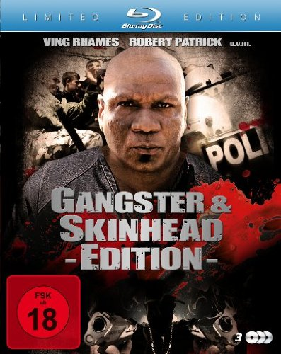 Gangster & Skinhead Edition (Wrath Of Cain / Skinning / Gangsterland) (3 Blu-rays) [Blu-ray] [Limited Edition]