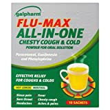 Galpharm Flu-Max All-In-One Chesty Cough & Cold Powder for Oral Solution 6x10 Sachets