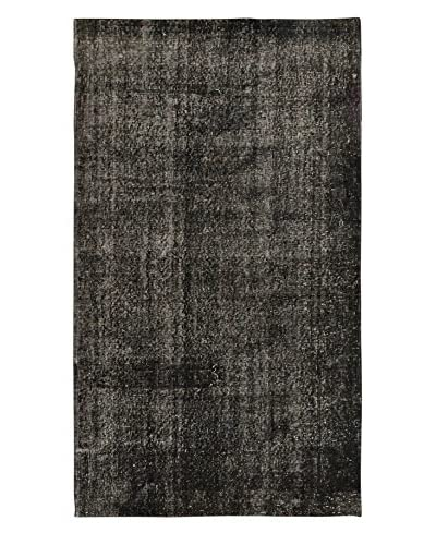 eCarpet Gallery One-of-a-Kind Hand-Knotted Anatolian Rug, Black, 3' 9 x 6' 7