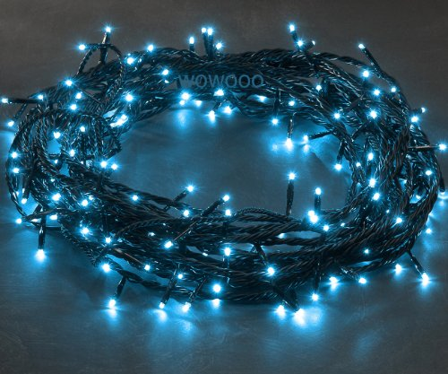 120x Micro LED LIGHT BLUE fairy lights, 8.3m, Christmas Festive - 3631-440 - low energy LED
