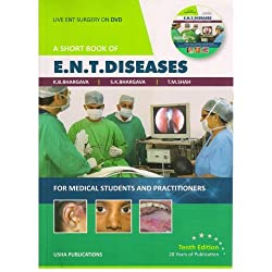 Short Book of ENT Diseases 10/e