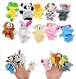 DAS ORIGINAL BOMIO® Baby Fingerpuppen-Set zum Spielen und...