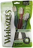 Paragon Whimzees Toothbrush Star Dental Treat for X-Large Dogs, 3 Per Bag