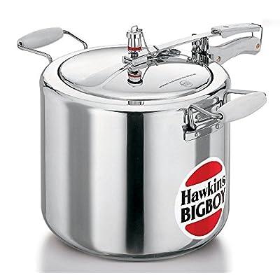 Hawkins Bigboy Aluminum Pressure Cooker, 22 Litres