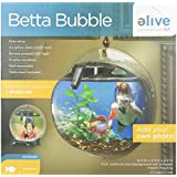 Elive 01005 Betta Bubble, 0.5 gallon, Black
