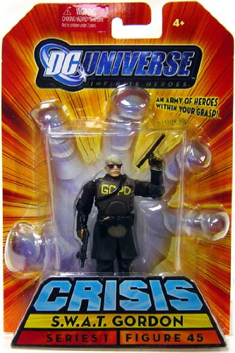 Buy Low Price Mattel DC Universe Infinite Heroes Crisis Series 1 Action Figure #45 S.W.A.T. Gordon (B002J21WMM)