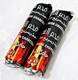 Hookah Charcoal 20 Tablets - Hooka Huka Sheesha Nargila Coals for Shisha Smoking
