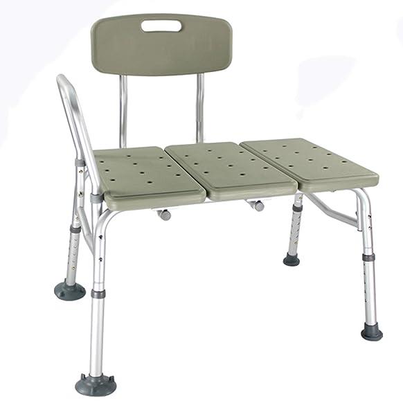 ERRU- sedia da doccia Antiscivolo Bagno Doccia Stool anziane donne in gravidanza con doccia disabili sedia della sede con schienale(82 * 53 * 82cm)
