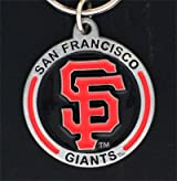 MLB Zinc Key Ring - Giants