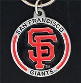 MLB Zinc Key Ring - Giants