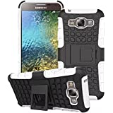Dr Un Kque En Shockproof Heavy Duty Combo Hybrid Rugged Dual Layer Grip Case Cover With Kickstand For Samsung...