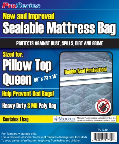 Proseries Heavy-Duty Sealable Queen front-786937