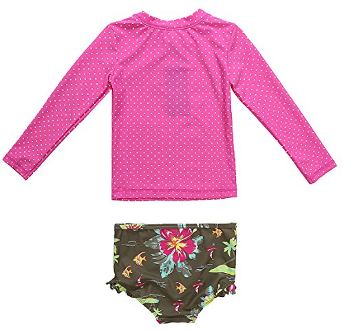 Charmleaks rash guard set uv long sleeve rashguard for Baby rash guard shirt