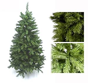 GREEN ARTIFICIAL CHRISTMAS TREE 6FT / 180CM INCLUDING STAND ** HIGH QUALITY XMAS TREE WITH 680 TIPS - IDEAL FOR CHRISTMAS DECORATIONS **