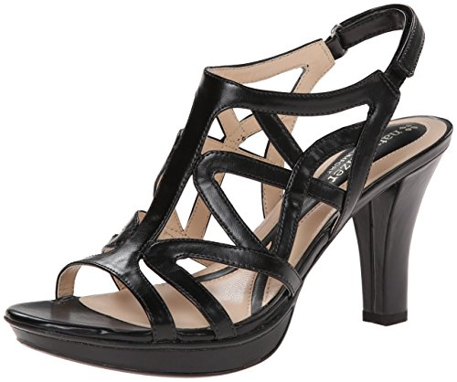 Naturalizer Women's Danya Dress Sandal,Black,7.5