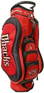 MLB Arizona Diamondbacks Medalist Cart Golf Bag, Black by Team Golf