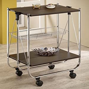 Serving Cart by Coaster Home Furnishings