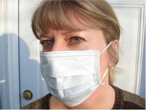 50 Pc Salon Style Dust Face Mask Ear Loop Bird Swine-Flu Cleaning Masks NIB - Face Mask - FM-93482 - ISBN: B000WXH2NS - ISBN-13:
