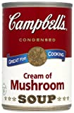 Campbells Condensed Cream of Mushroom Soup 295 g (Pack of 12)