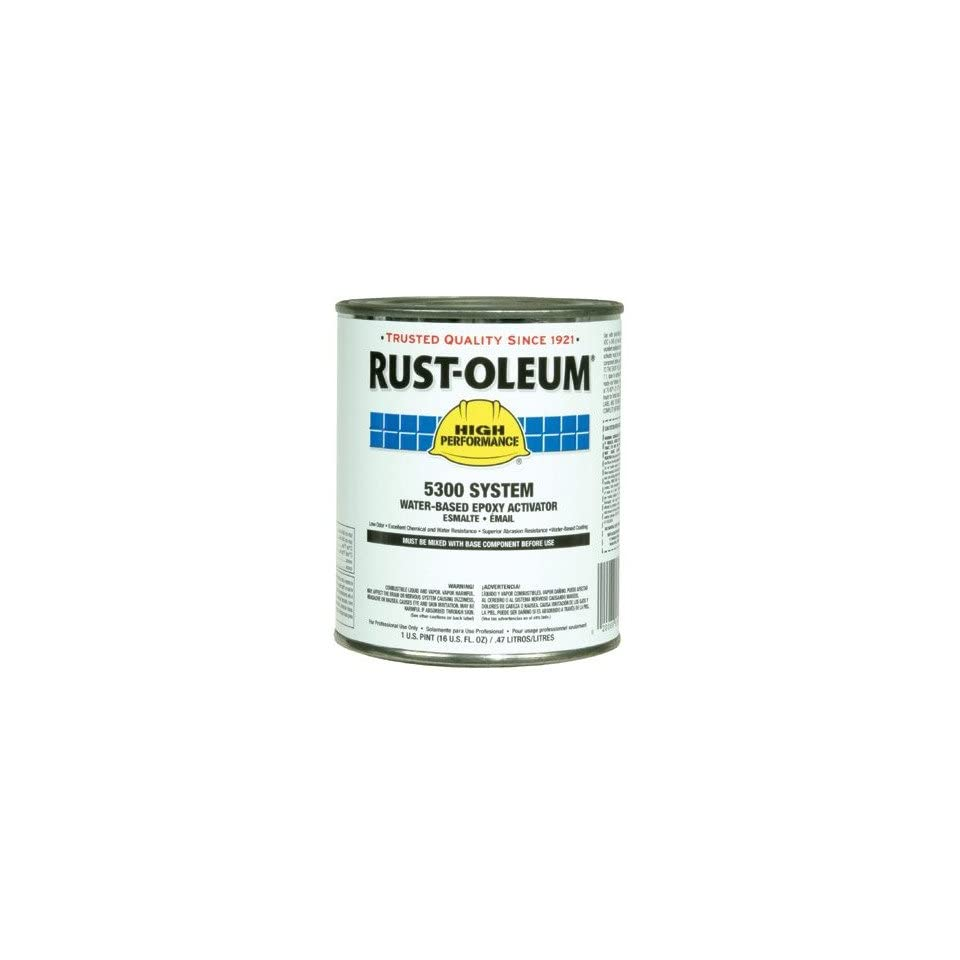 Rust Oleum   High Performance 5300 System Water Based Epoxy 604 Pt Activator 647 5301604   604 pt activator [Set of 4]