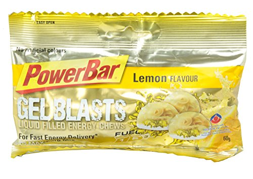 PowerBar Gel Blasts レモン 12袋入り PBG1P